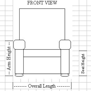 Sensational Furniture Measuring Measurement Guide Carolina Chair Andrewgaddart Wooden Chair Designs For Living Room Andrewgaddartcom