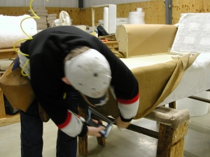 Quality North Carolina furniture produced by skilled craftspeople. Made in the USA. American made furniture.