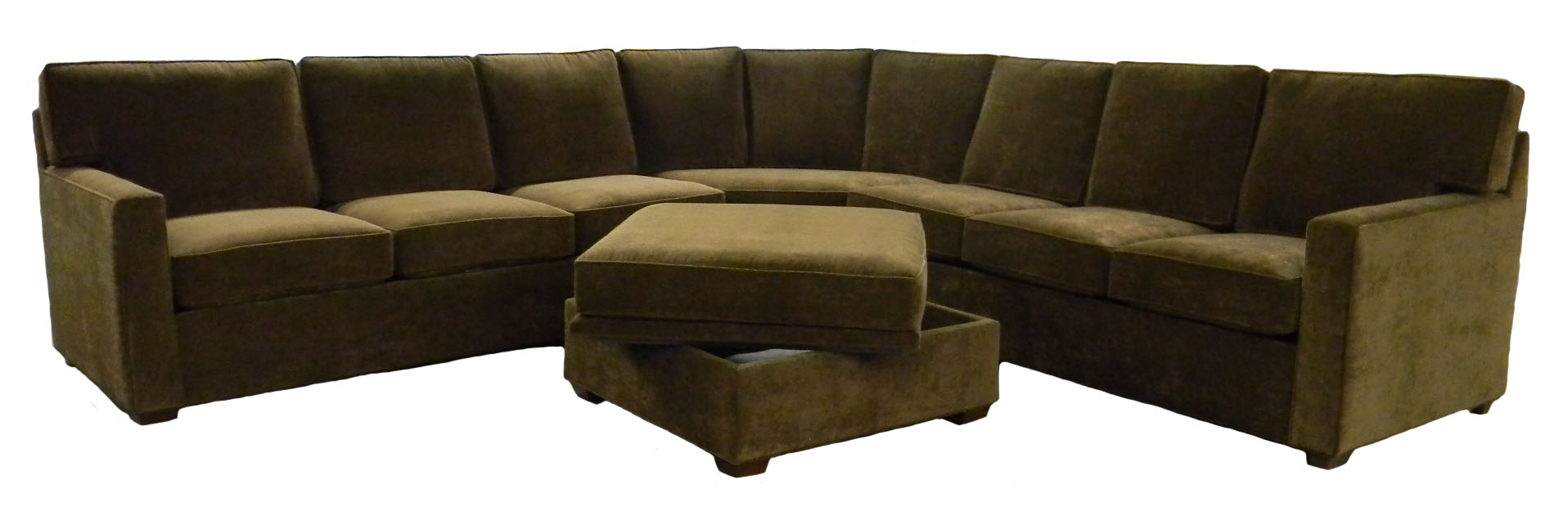Olive Green Sectional Sofa – Hereo Sofa