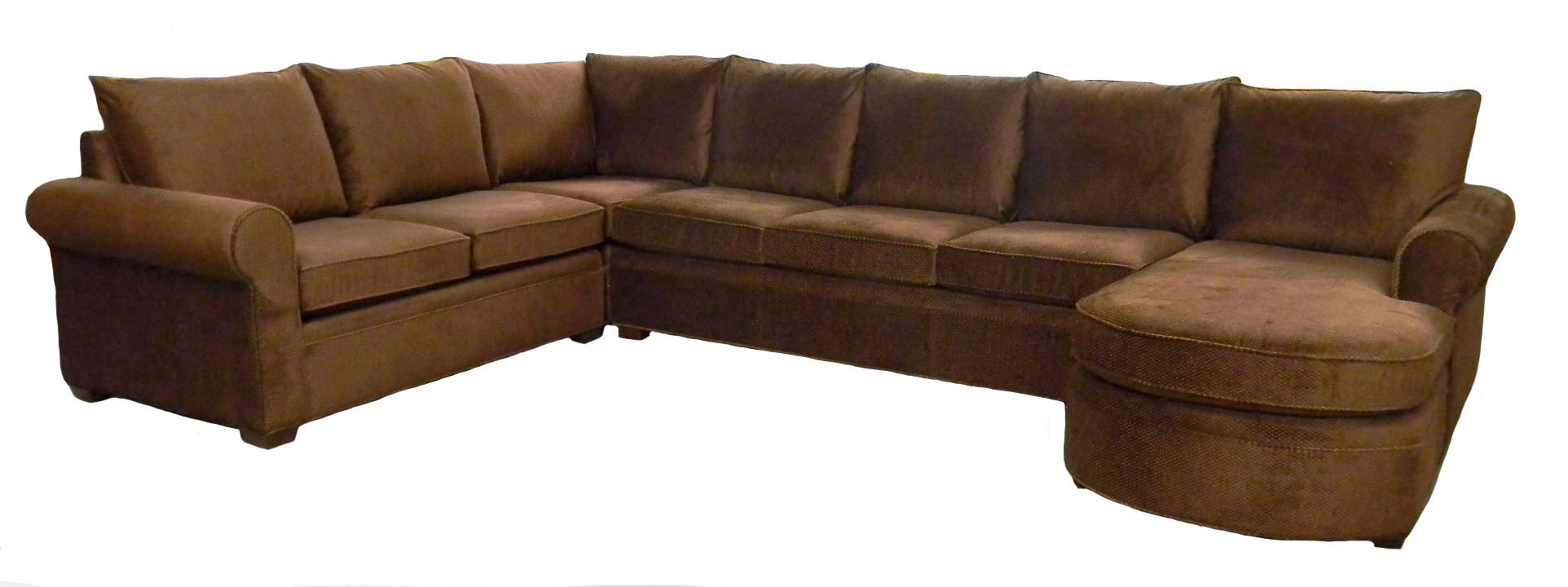 Photos examples custom sectional sofas carolina chair for Sectional furniture
