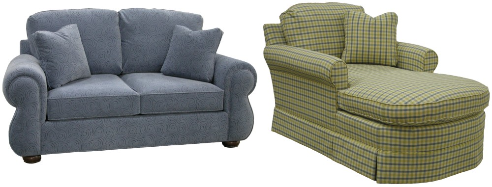 Create your own custom upholstered furniture and sectional - Apartment size sectional sofa with chaise ...