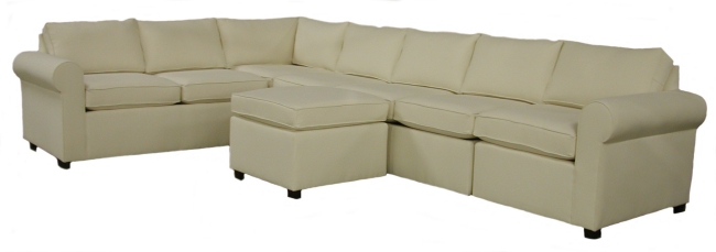 Johnu0027s Custom Sectional Sofa