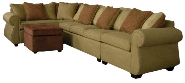 Pamu0027s Custom Sectional Sofa  sc 1 st  Carolina Chair : customize sectional - Sectionals, Sofas & Couches