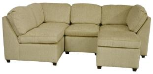 Roth Sectional Sofa - Sand