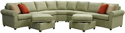 Roth Sectional Sofa - Fryer