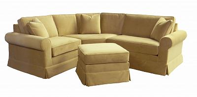 JoAnn's Skirted Sectional