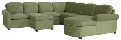 Roth Sectional Sofa - Spruce