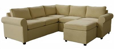 Jill's Custom Sectional Sofa