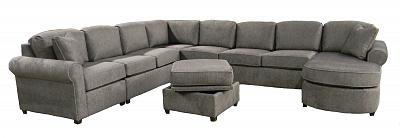 Roth Sectional Sofa - Hall