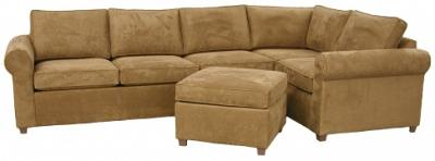 Yeats Sectional Sofa - Burke