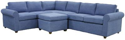 Hall Sectional Sofa - Christine