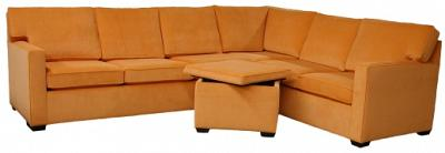 Crawford Sectional Sofa - Mt Zion Carrot