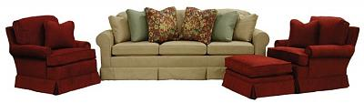 Hughes Sofa with Eliot Chairs