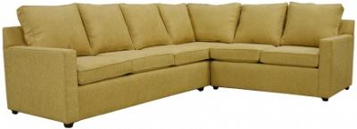 Hall Sectional Sofa - Sunset