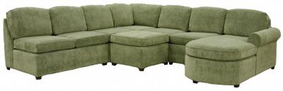 Roth Sectional Sofa - Heather