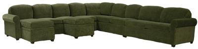 Roth Sectional Sofa - Darlene