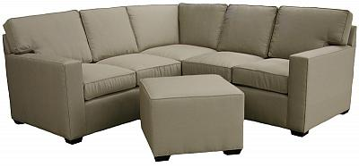 Julie's small space custom sectional sofa
