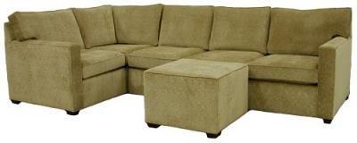 Crawford Sectional Sofa - Woods