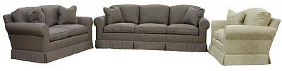 Hughes sofa, loveseat, chair and half