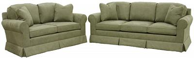 Hughes loveseat and queen sleeper