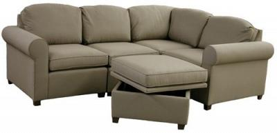 Roth Sectional Sofa - Geri in Sunbrella