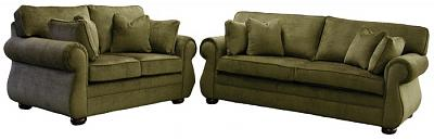 Kingsley sofa and loveseat