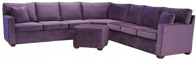 Crawford Sectional Sofa - Evelyn