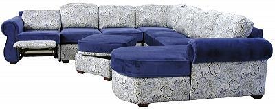 Lisa's large custom sectional sofa
