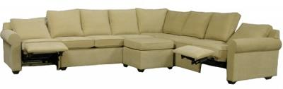 Roth Sectional Sofa - Jaguar Bone