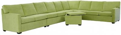 Crawford Sectional Sofa  - Mt Zion Apple