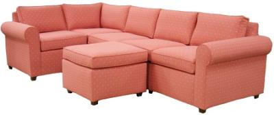 Roth Sectional Sofa - Coral COM