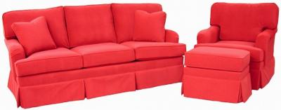 English Collection - sofa, chair, ottoman