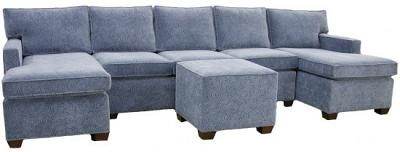 Crawford Sectional Sofa - Parker