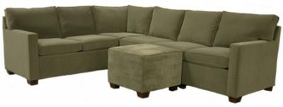Crawford Sectional Sofa - Sage