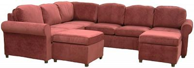 Roth Sectional Sofa - McKnight