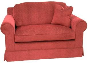 Hughes sleeper chair in Chenille