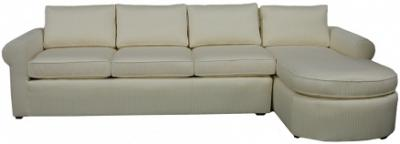 Yeats Sectional Sofa - Ivory