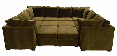 Byron Sectional Sofa - Mintz