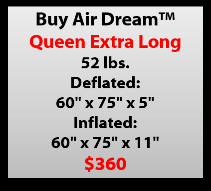 Buy Air Dream Queen XL Sleeper Mattress