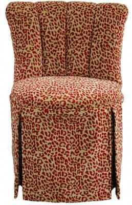 Elizabeth Swivel Vanity Chair with Kick-Pleat Skirt