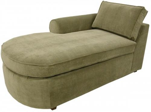 Yeats 1-Arm Chaise Left Facing