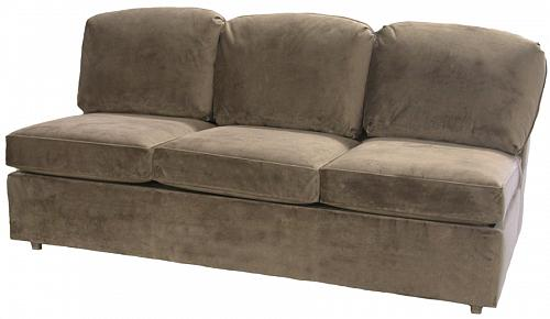 Roth Armless Queen Sleeper Sofa