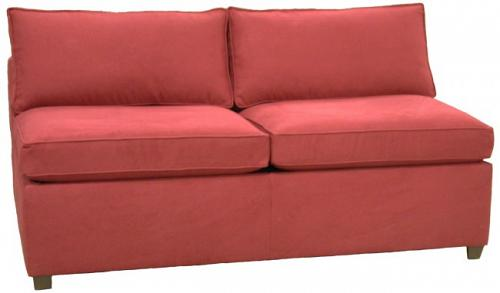 Yeats Armless Full Sleeper Sofa