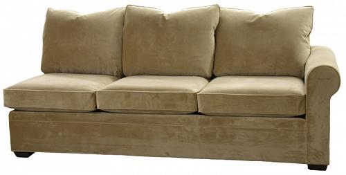 Byron Sectional Queen Sleeper Sofa Right Facing Air