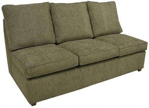 Hall Armless Queen Sleeper Sofa