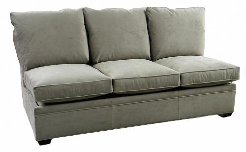 Byron Armless Queen Sleeper Sofa  sc 1 st  Carolina Chair : queen sleeper sofa sectional - Sectionals, Sofas & Couches