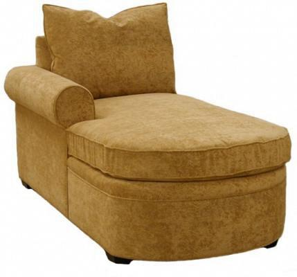 Byron 1-Arm Chaise Left Facing