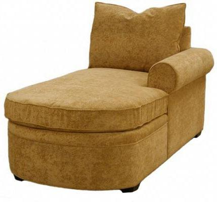 Byron 1-Arm Chaise Right Facing
