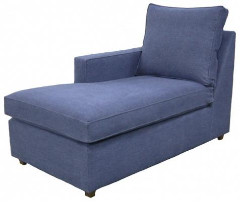 Hall 1-Arm Chaise Left Facing