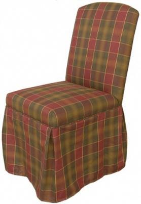 SKIRTED DINING CHAIR CUSHION Chair Pads Cushions